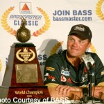 Luke Clasen at the 2006 CITGO Bassmaster Classic in Kissimmee, Florida.