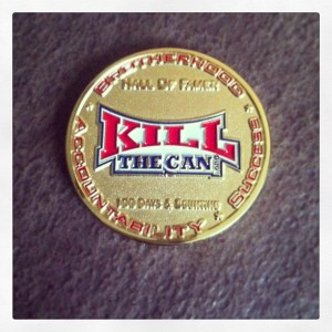 KillTheCan.org Hall Of Fame Coin